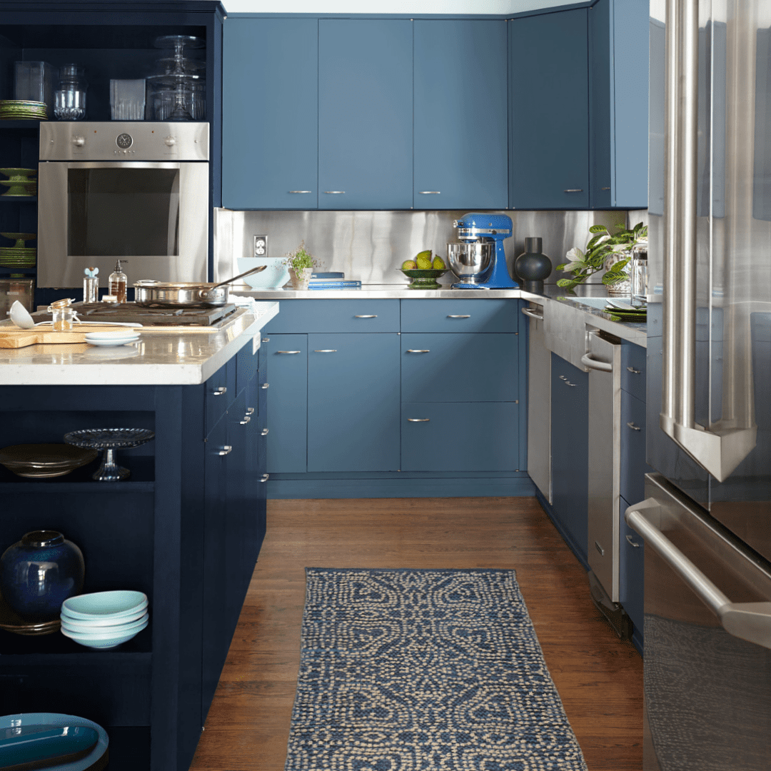The Kitchen Colours For 2019: Behr Paint Names Blueprint Color Of The Year 2019
