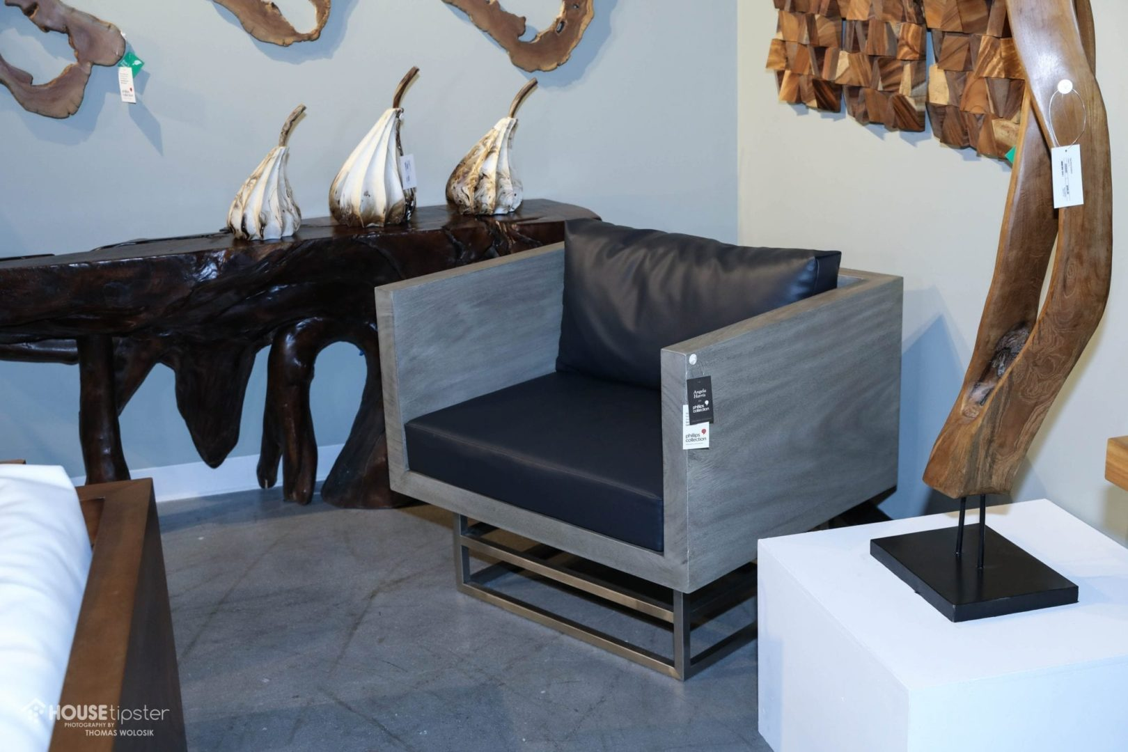 Home decor furniture phillips collection Elements Sofas And Accent Tables Meant To Appeal To Those Who Want To Tell Story Through Furniture And Home Decor Angela Harris For Phillips Collection Pinterest Angela Harris Trio House Tipster Industry