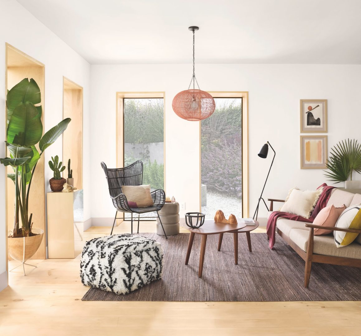 Living Room Ideas To Steal For Comforting Vibe Found In: Sherwin-Williams Reveals Colormix Trend Forecast For 2020