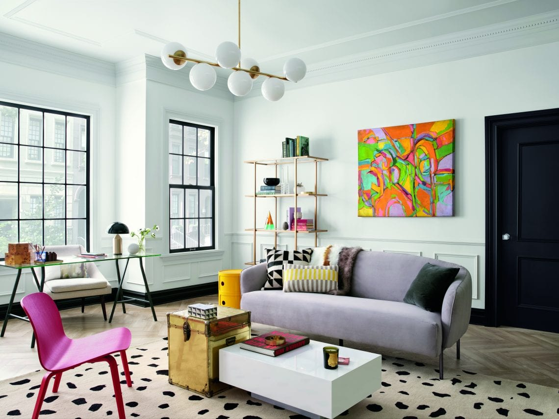 color living room apartment interior design: apartment painting | Color of the Year 2020 | House Tipster Industry
