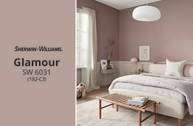 Sherwin Williams Names Glamour February 2020 Color Of The Month House Tipster Industry
